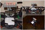 Various Tello Lighting Mods  Downlights, top case light, floodlights